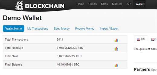 pulsante bitcoin donare