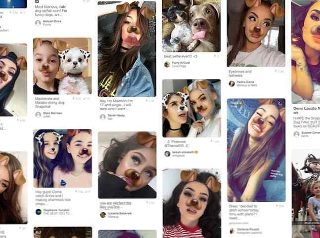 filtru de slăbire snapchat