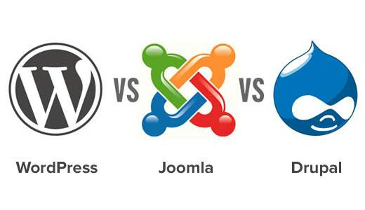 WordPress vs Joomla vs Drupal - Care dintre ele este mai bună?