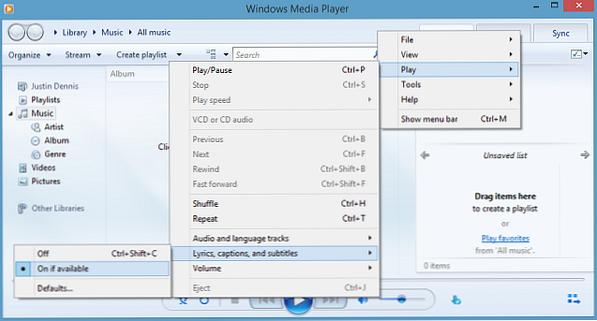 So Konnen Sie Externe Untertitel In Windows Media Player Hinzufugen Windows Nachrichten Aus Der Welt Der Modernen Technologie