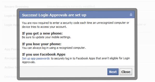 Codegenerator facebook login ohne Wie melde