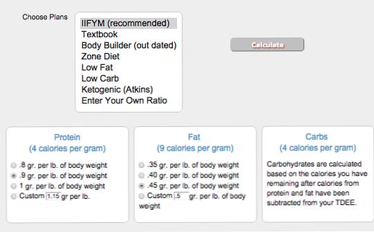 rezultatele pierderii în greutate cu iifym